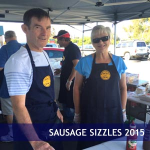 Sausage Sizzles 2015